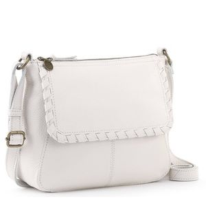 The Sak Stone Leather Crossbody Bag